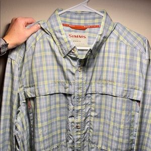Simms button down
